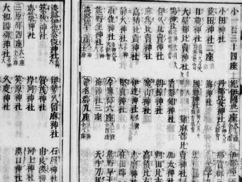 南海道神 163座 大社29座 小社134座