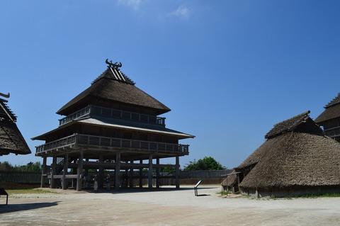 吉野ヶ里遺跡 北内郭の大型建物 - Wikipedia