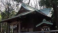 大麻止乃豆乃天神社 東京都稲城市大丸のキャプチャー