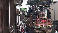 重要無形民俗文化財「城端神明宮祭の曳山行事」 - 富山県の代表的な山鉾屋台の一つのキャプチャー