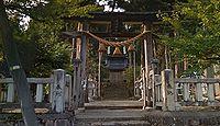 荊波神社 富山県南砺市岩木