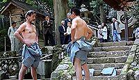 水谷神社 兵庫県養父市奥米地中島のキャプチャー
