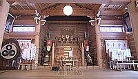 三皇熊野神社 - 平安初期再建、獅子舞神事など、三光大神として「日・月・星」を祀る社