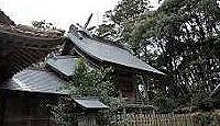 朝山神社 - 『出雲国風土記』所載の宇比多伎山、大国主命が朝ごとに通った美人姫を奉斎