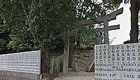 櫛玉比売命神社(松山市) - 国津比古命神社の妃神、夫神より先に参拝する祓座大明神