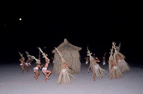 重要無形民俗文化財「南薩摩の十五夜行事」 - 網引きなどの特殊な行事、集落あげて盛大にのキャプチャー