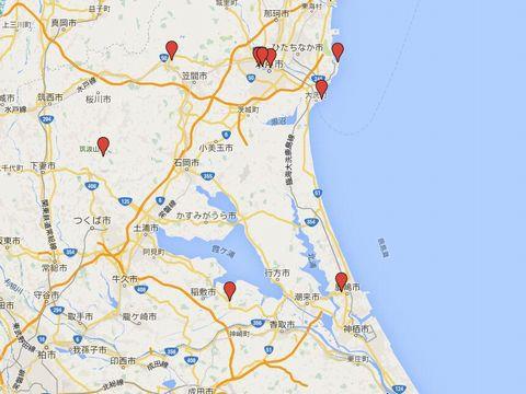 茨城県の別表神社のキャプチャー