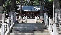 春日神社 東京都青梅市野上町