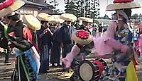 重要無形民俗文化財「永井の大念仏剣舞」 - 念仏の風流芸としての特色が濃厚、念仏唄も秀逸のキャプチャー