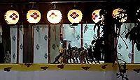 八幡古表神社 - 4年に1度の傀儡子の舞と神相撲で知られる、神功皇后の神託による縁起