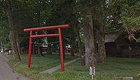 中村神社 長野県長野市松代町西条