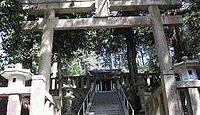 坂本神社諏訪社  岐阜県中津川市茄子川
