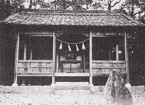 二宮神社 広島県府中市土生町上森のキャプチャー