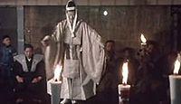 重要無形民俗文化財「黒川能」 - きわめて民俗的色彩の濃い要素を示す能楽のキャプチャー