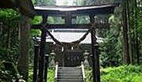 白山神社(土沢) - 平安期の創建、式内社「蒲原神社」とも、奈良時代の木造如来座像