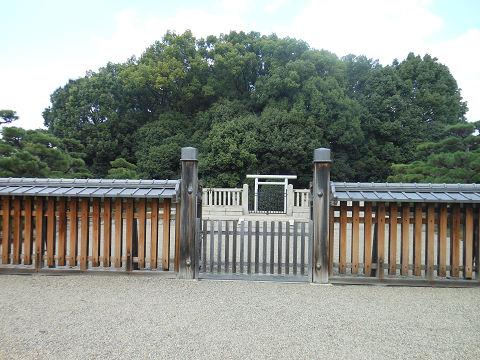 開化天皇陵「春日率川坂上陵」正面 - ぶっちゃけ古事記