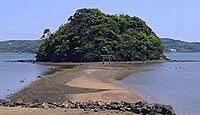 小島神社(壱岐市) - 干潮時のみ参道が現れる「モンサンミシェル」、2年に一度の神事