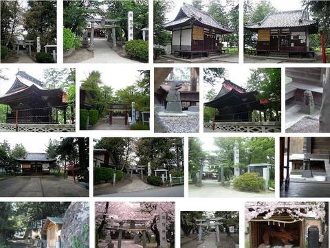 熊野神社 山梨県甲府市国母のキャプチャー