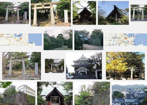 城山神社 長崎県五島市下大津町のキャプチャー