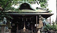 寄木神社 東京都品川区東品川のキャプチャー