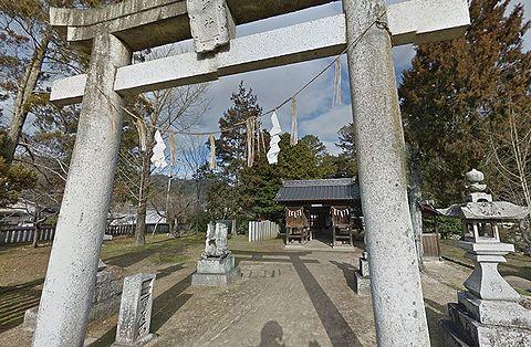 鵜江神社 岡山県小田郡矢掛町西川面のキャプチャー
