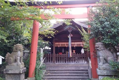 韓神社 宮中宮内省坐神三座の二座のキャプチャー