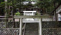 神田神社 岐阜県加茂郡東白川村神土のキャプチャー