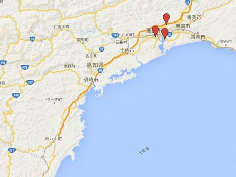 高知県の別表神社のキャプチャー
