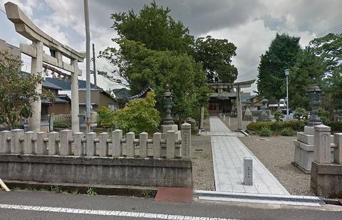 神明神社 福井県越前市若竹町のキャプチャー