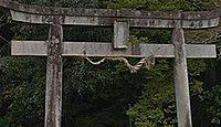 大野神社(伊豆市) - 記録上は江戸初期400年前、各産土神を合祀して明治期に再生