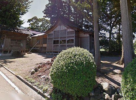 大森神社 富山県南砺市谷のキャプチャー