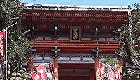 紀州東照宮 - 紀州藩祖も祀る、「落ちない木」と、5月に108段の石段を神輿が下る和歌祭