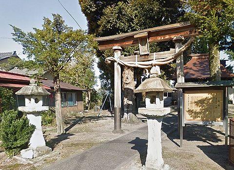 神明宮 新潟県五泉市石曽根のキャプチャー