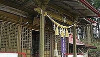 大衡八幡神社 - 秀吉の奥州仕置で塩浪館が落城し現在地に遷座、元旦に願い花火打上奉納