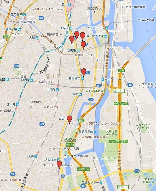 東海七福神 - 昭和7年創設の由緒ある、東京品川区・大田区の品川周辺の巡礼札所七寺社