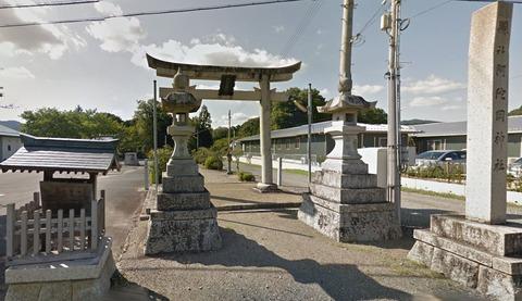 阿陀岡神社 兵庫県丹波市春日町字多利のキャプチャー