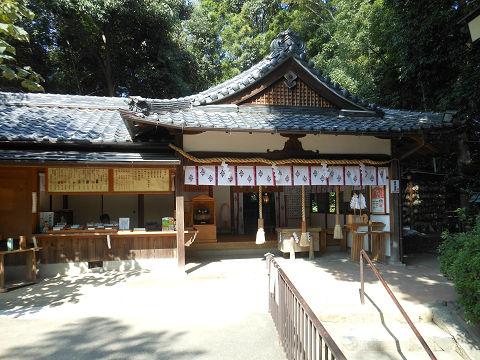 久延彦神社の拝殿正面 - ぶっちゃけ古事記