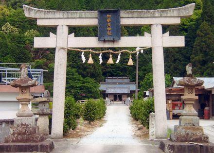 加都良乃神社 兵庫県多可郡多可町中区間子631-1