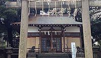 上田端八幡神社 東京都北区田端のキャプチャー