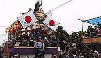 時平神社(大和田) - 江戸初期創建、社殿三方の壁面に見事な彫り物がある時平神社四社