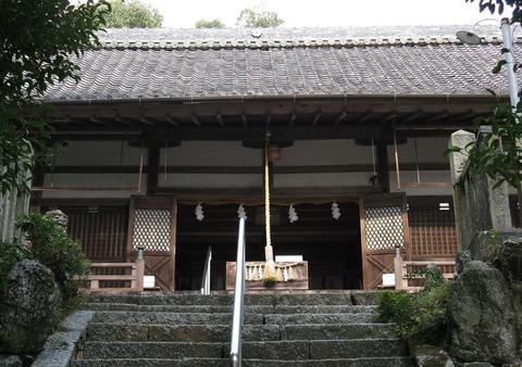 火雷神社 宮中大膳職坐神三座の一座のキャプチャー