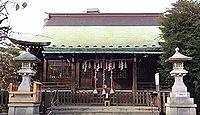 氷川神社(下落合) - 第5代孝昭天皇の時代の創建、蛍の名所・落合郷、神田川の守り神