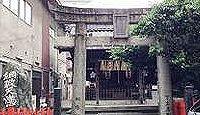綱敷天満宮(福岡市) - 綱庭と書かれ、綱場にある、かつては綱輪天神と呼ばれた神社