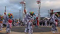 日枝神社(白間津) - 4年ごとの「白間津のオオマチ行事」、901年勧請・創建の古社