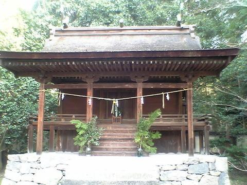 国宝「神谷神社本殿」(香川県坂出市)のキャプチャー