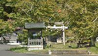 島萬神社 京都府綾部市中筋町岩ケ下のキャプチャー