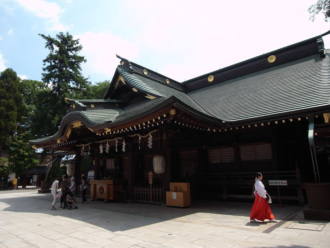 [御祭神がオオクニミタマノカミ]初詣で人気の神社のキャプチャー