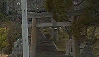 櫛梨神社 - 琴平町の如意山南西例に鎮座、神櫛皇子が奉斎し、死後に奉斎された式内社