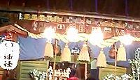 高崎神社(高崎市) - 鎌倉期創建の熊野神社、昭和期に美保ゑびすを勧請、高崎総鎮守