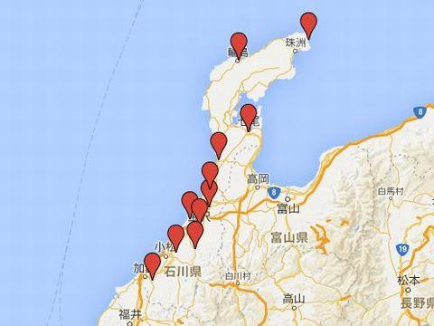 石川県の旧県社のキャプチャー